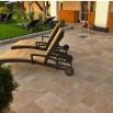 Pavé extérieur en pierre naturelle pour terrasse