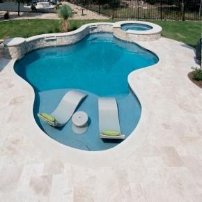 Carrelage extérieur piscine